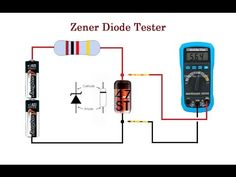 Zener Diode Tester. Cheap and reliable. up to 24V - YouTube