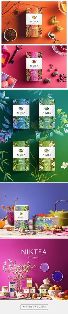 Niktea 茶包装设计欣赏-有味道的色彩,来源自黄蜂网http://woofeng.cn/