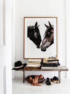Travelling Wares — Wild Horses Photographic Print