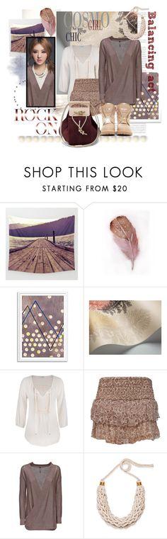 """Balancing act"" by tokyotrekker ❤ liked on Polyvore featuring moda, maurices, Anine Bing, Saloukee i Balmain"