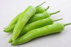 Green chills pepper Royalty Free Stock Photos