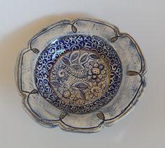 Earthenware, Mosaic, Mixed Media, Blue And White, Plates, Ceramics, Tableware, Artwork, Design