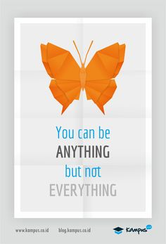 You can b anything, but not everything #quotes