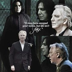 Alan Rickman. May he Rest In Peace and know that we will love and miss him for how long? Always