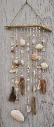 diy decoração conchas do mar