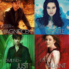 Anyone notice the Harry Potter colors?But Lucy and Peter are switched