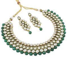 VVS Jewellers Ethnic Indian Wedding Bridal Green Pearls K... https://www.amazon.com/dp/B01MRJP3KO/ref=cm_sw_r_pi_dp_U_x_dqLHAbX83NP92