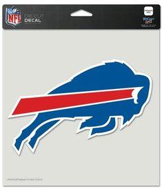Buffalo Bills Decal 8x8 Perfect Cut Color