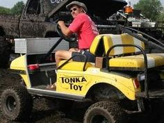 Tonka Toy Cart #golfcart #golf