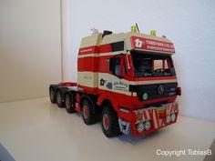 LEGO Mercedes 5653 1:13 Torben Rafn   by Töby Design