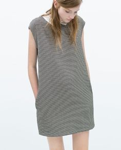 ZARA - NEW THIS WEEK - DRESS WITH CONTRASTING COLLAR Vestidos Cortos a96c057e39f22