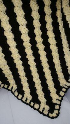 Hogwarts Hufflepuff Badger Lovey Security Blanket Pattern