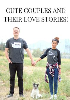 Whether it's the glint in their eyes, that knowing smile, or that special embrace, you can tell that these cute couples below are in #love. But we wanted to delve a little deeper for the love story behind the photo, like how they met, where they're from, or why the hell hasn't he proposed!?