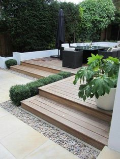 Top 60 Best Backyard Deck Ideas Wood And Composite Decking Designs is part of Patio deck designs - Discover where luxury and leisure meet with the top 60 best backyard deck ideas Explore unique wood and composite decking designs and layouts Veranda Design, Terrasse Design, Front Yard Landscaping, Backyard Patio, Backyard Ideas, Landscaping Ideas, Inexpensive Landscaping, Paving Ideas, Modern Front Yard