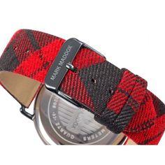 471afb85d69c Reloj Mark Maddox Hombre HC3029-17 Negro y Rojo