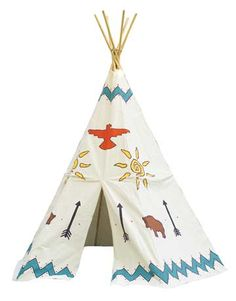 Tee Pee... Small version for scouts