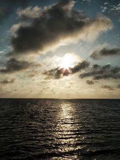 New Adventures - Traveling south - 3000 miles - Sun rising, St Joseph Bay, Fl