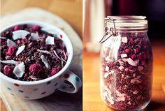 Choco-coco Raspberry Granola by Ninaroid, via Flickr