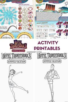 Free Hotel Transylvania Printable Frank Coloring Page ...
