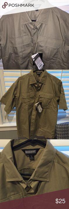 NWT Blackhawk tactical shirt NWT Blackhawk lightweight tactical shirt Blackhawk apparel Shirts Casual Button Down Shirts