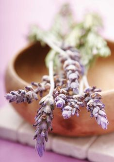 Body & Soul: Make Lavender Spa Products: mineral bath salts, spray, lip balm, body butter, perfume