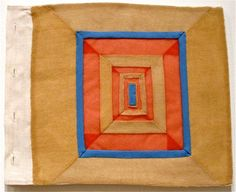 """Louise Bourgeois - Page from textile book """"Ode à l'Oubli"""" (2004)"""