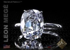 Stock Engagement Rings : 5.20 ct D/VS1 Princessa™ Solitaire r6534