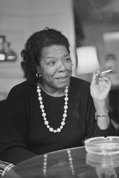 """""""Marijuana is not habit-forming,"""" Maya Angelou tells herself in a scene from her 1974 autobiography, Gather Together in My Name. Then later, after she's convinced herself to try it, she writes: """"The food was the best I'd ever tasted. Every morsel was an experience of sheer delight. I lost myself in a haze of sensual pleasure, enjoying not only the tastes but the feel of the food in my mouth, the smells, and the sound of my jaws chewing."""""""