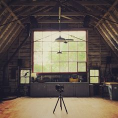 Moving into this historic artist studio for a residency with @twenty_summers in this beautiful old barn built 100 yrs ago by Charles Hawthorne as an art school. Artists such a Norman Rockwell, Jackson Pollock, Tennessee Williams & Norman Mailer all worked at one point in this space.