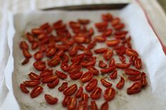 Slow Roasted Oven Dried Tomatoes - The Delectable Feast