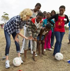 Charlize Theron started CTAOP (Charlize Theron Africa Outreach Project) to prevent African youth from acquiring HIV.