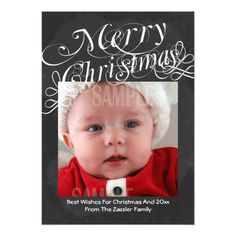 Chalkboard Scroll Font Merry Christmas Template Custom Announcements, customise with your own photo and text Christmas Photo Cards, Christmas Wishes, Christmas Photos, Holiday Cards, Christmas Holidays, Merry Christmas, Christmas Ideas, Merry Happy, Happy Photos