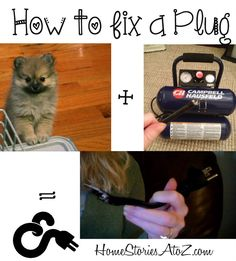 Step by step tutorial on how to replace a plug. Great for any frayed or cut cord. Takes 10 mins or less to do. So easy!