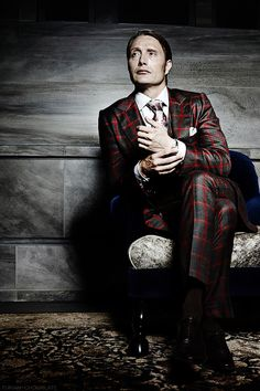 Dr. Hannibal Lecter dapper. Fashion and culinary idol...except for the whole cannibal thing.