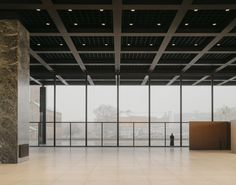 Glass Structure, Concrete Structure, Hangzhou, Shanghai, David Chipperfield Architects, Wooden Partitions, Walter Gropius, Ludwig Mies Van Der Rohe, World Famous Artists