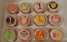 Sweet Safari Cupcakes