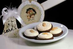 Kakaové kolieska so snehovými pusinkami - recept Basket
