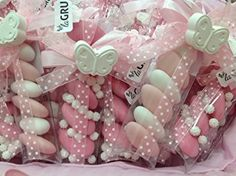 Immagine correlata Wedding Candy, Wedding Favours, Party Favors, Baby Shower Cakes, Baby Shower Parties, Baptism Cookies, Sweet Box, Dress Card, Sweetest Day