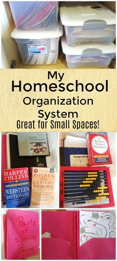 Are you looking for an awesome homeschool organization system? Don't miss this simple way to get organized in a small space!