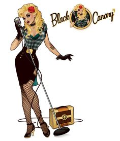 DC Comics Bombshells: Black Canary