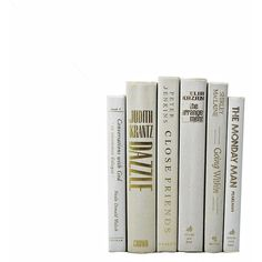 IVORY WHITE Wedding Decor, Decorative Books, Table Settings,... ($40) ❤ liked on Polyvore featuring fillers, books, home, accessories, decor, borders, magazine and picture frame