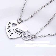 Find More Pendant Necklaces Information about Free shipping 2015 Hot Selling diamante 2pcs/ Set key heart friendship bff necklace best friends Jewelry For Women and Men,High Quality friends heroes,China jewelry triangle Suppliers, Cheap jewelry spotlight from Ankun Fashion Jewelry on Aliexpress.com