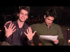 Teen Wolf - Cast Reads Fan Mail... The funny bits start at 40 seconds. Thanks a lot, Dylan! Me watching this show is ALL YOUR FAULT!!!