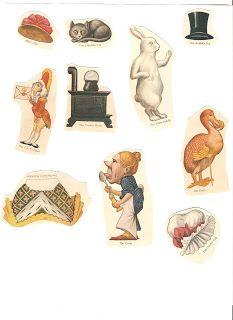 Miss Missy Paper Dolls: Alice in Wonderland paper dolls 1914