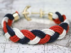 JFK Turk's Head Knot Bracelet by Kiel James Patrick