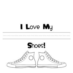 Pete The Cat....I love my Shoes...free download...a great project for my Beautiful Grands to colour.