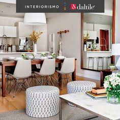 Consigue una sensación de mayor amplitud eliminando paredes o divisores de espacio entre tus diferentes estancias.