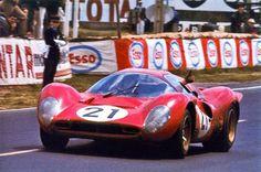 1967 24 ore Di LeMans SpA Ferrari SEFAC Ferrari 330 P4 V12 P5.0 Piloti Ludovico Scarfiotti Mike Parkes