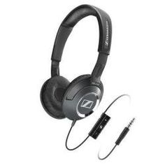 Save $59.86 on Sennheiser HD 218i Supra-Aural Headphones Compatible with iPod, iPhone, and iPad; only $40.09