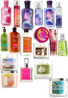 """""""bath and body works haul"""" by yourgirlcarlyrose ❤ liked on Polyvore"""